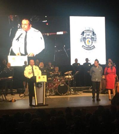TIENE LA ORQUESTA DE CAPELLA SU NOCHE DE GALA: Se presenta en el Teatro de Cancún la nueva Orquesta Policía Quintana Roo