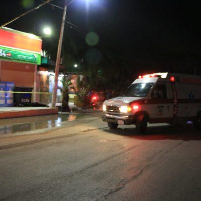 BALAZOS EN LA NOCHE DEL SÁBADO EN CANCÚN: Un muerto y un herido, saldo de ataque a guardias de seguridad del bar 'La Xtabay' de la Región 219