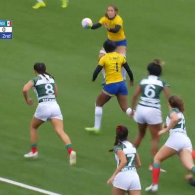 Selección mexicana femenil de Rugby pierde ante Brasil en Juegos Panamericanos 2019