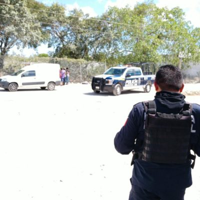 ACTUALIZACIÓN | SON DOS LOS ASESINADOS: Confirman hallazgo de cadáveres de un hombre y una mujer en el interior de un pozo en la Región 227 de Cancún