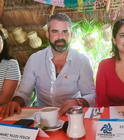 Preocupa a Coparmex Riviera Maya que autoridades no estén dando el ancho en el tema de sargazo en Playa del Carmen