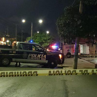 DOS ATAQUES EN DISTINTOS PUNTOS DE CANCÚN: Matan a dos hombres en la Región 237 y en la Región 240