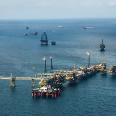 Sufre declive 'Xanab', campo petrolero ubicado en aguas someras de Tabasco, donde se construirá la refinería