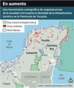 Amenaza ambiental en la Península por crecimiento de infraestructura invasiva