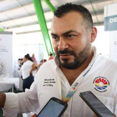 Continúan operativos para detectar a comerciantes del parque Las Palapas sin permisos, afirma Amílcar García