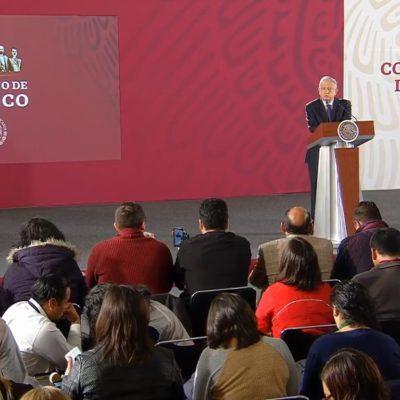 """""""TODAVÍA NO SE PUEDE HABLAR DE SECUESTRO"""": Dice AMLO en la 'mañanera' que """"estamos enterados de la privación ilegal de personas en Cancún"""" y pide esperar"""
