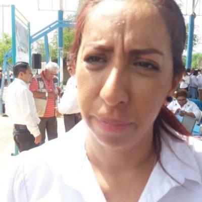 Son 200 escuelas públicas que implementarán el protocolo de seguridad en QR, anuncia Ana Isabel Vásquez