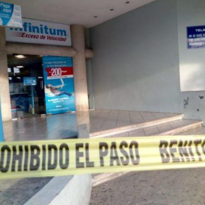 Comando armado asalta por segunda ocasión tienda Telmex de la Portillo
