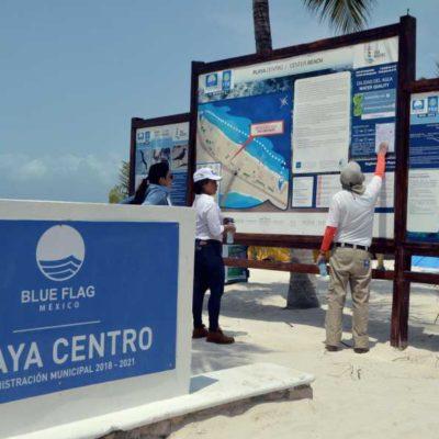 Se preparan playas de Isla Mujeres para izar distintivos 'Blue Flag'
