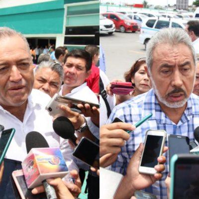 """""""SI LA AUTORIDAD NO ENCUENTRA NINGÚN DELITO…"""": Sindicato de taxistas Cancún reinstala a operadores que fueron detenidos por FGE con armamento; Jorge Pérez pedirá información a la Fiscalía"""