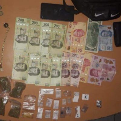Detienen a menor de edad con drogas en Tulum