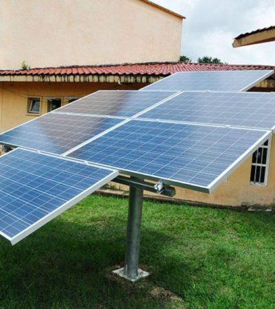 Invitan a ciudadanos a utilizar paneles solares para evitar abusos de la CFE en José María Morelos