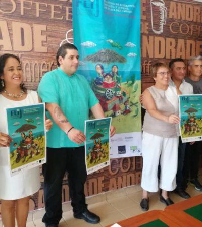 Presentan el programa del primer Festival de Literatura Infantil y Juvenil de Playa del Carmen