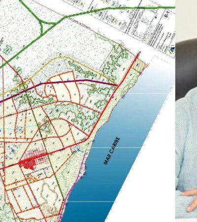 Retoma Ayuntamiento Proyecto de Construcción del Libramiento Tulum, anuncia Víctor Mas