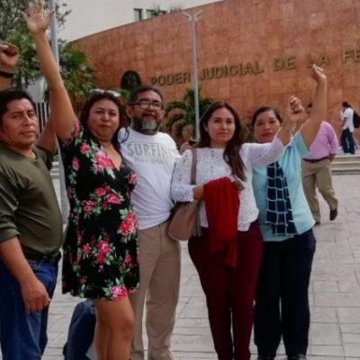 Maestros cesados por oponerse a la Reforma Educativa seguirán esperando mientras el Gobierno Federal no otorgue recursos para su reinstalación y pago de salarios caídos