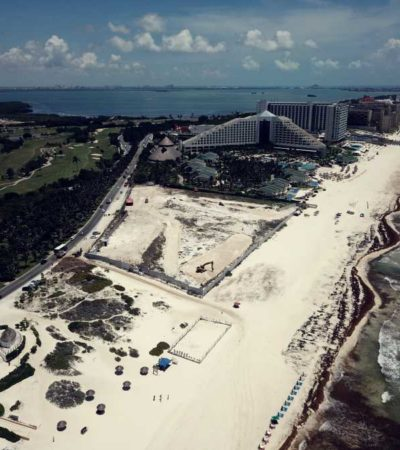 Reiteran ONG's rechazo a construcción de Gran Solaris Cancún, junto a Playa Delfines