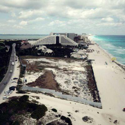 REINICIAN OBRAS DE HOTEL JUNTO A PLAYA DELFINES: Retoman la construcción de polémico proyecto Gran Solaris suspendido en 2018 en Cancún