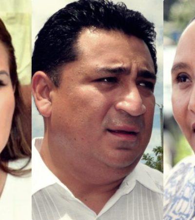 Rompeolas: Buscan tres la coordinación de cuatro diputados del PAN