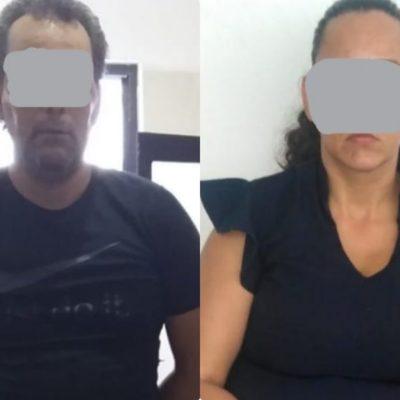 Detienen a una pareja con marihuana y éxtasis en la zona hotelera de Cancún