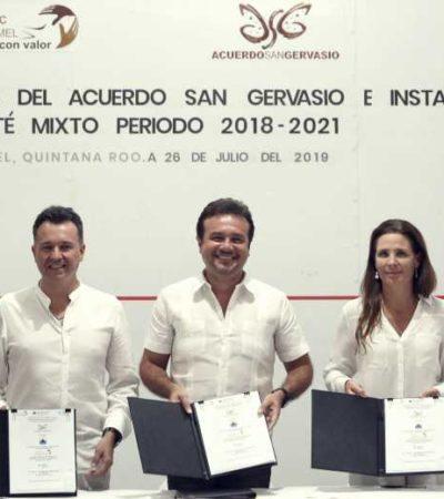 Rescata Pedro Joaquín el Acuerdo San Gervasio