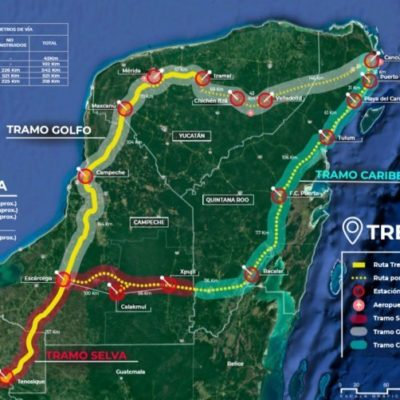 Licita Gobierno de QR tres estudios técnicos para allanar la ruta del Tren Maya