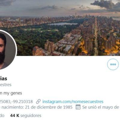 Hallan muerto al tuitero Rafael Arias; colgaba de un árbol en el patio de su casa en la Miguel Hidalgo