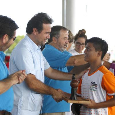 Destaca Pedro Joaquín el trabajo para fomentar actividades deportivas en beneficio de las nuevas generaciones