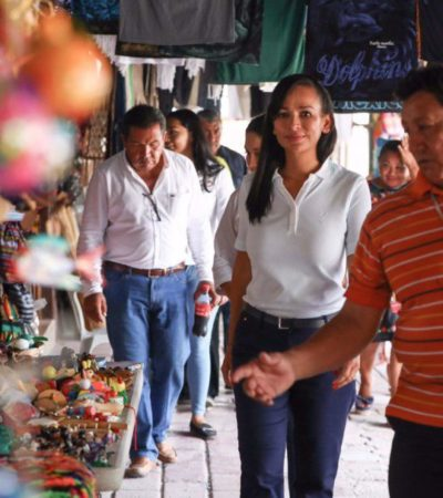 Agenda estratégica nacional fortalecerá el desarrollo económico y social de QR y Puerto Morelos, afirma Laura Fernández