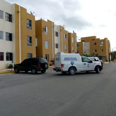 Muere joven tras caer aparentemente de azotea en un edificio en la Región 249 de Cancún