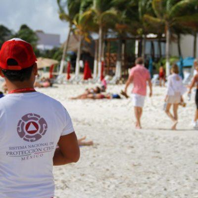 Gobierno de Puerto Morelos promueve la prevención y autoprotección de habitantes ante desastres naturales