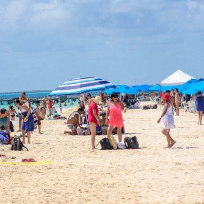 Celebración del 169 aniversario de Isla Mujeres impulsa la llegada de turistas