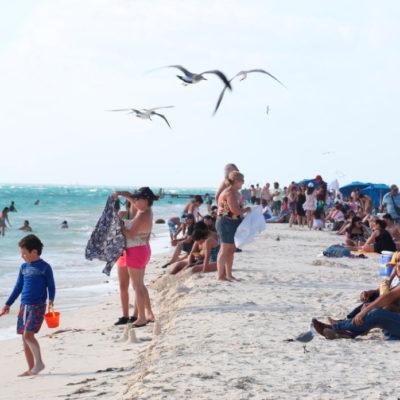 Registra Isla Mujeres gran afluencia de turistas por temporada vacacional