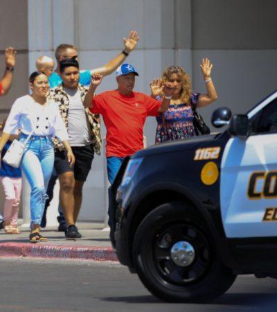 """""""TERRIBLE TIROTEO EN EL PASO"""": Reportan 'muchos muertos' y heridos por ataque en concurrido centro comercial de Texas"""
