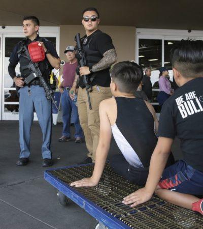Confirman muerte de tres mexicanos y otros seis heridos en tiroteo en El Paso, Texas