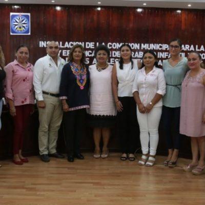 Instalan la Comisión para la Prevención y Erradicación del Trabajo Infantil y Protección de los Adolescentes Trabajadores en Isla Mujeres