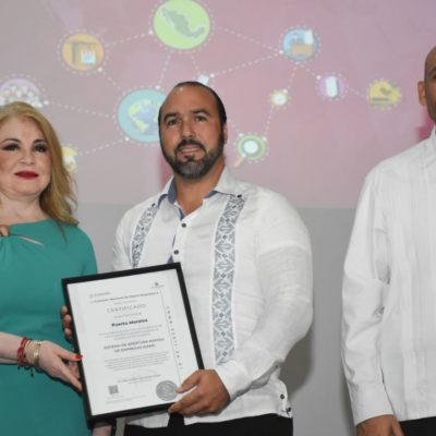 Gobierno federal certifica a Puerto Morelos por facilitar apertura de negocios