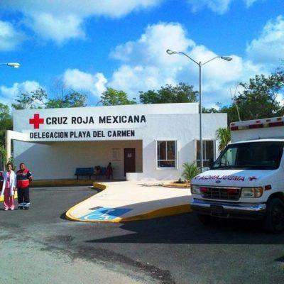 Piden Habitantes de Puerto Aventuras reabrir el módulo de la Cruz Roja