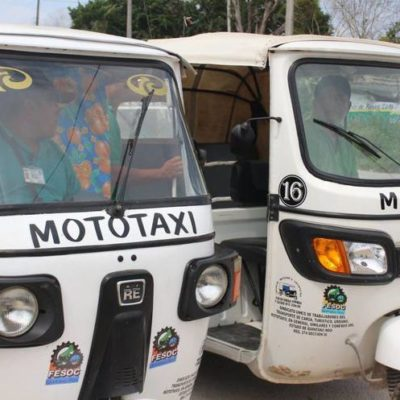 Hacen llamado a autoridades para detener proliferación de mototaxis en Tihosuco