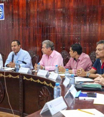 Autoridades de Isla Mujeres y empresarios unen esfuerzos para impulsar el saneamiento y buena imagen del municipio