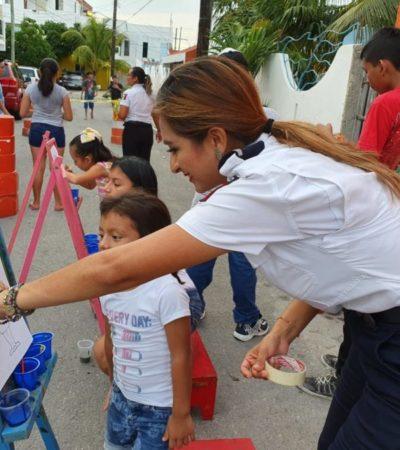 Autoridades garantizan la seguridad de ciudadanos con trabajo de proximidad policial en Isla Mujeres