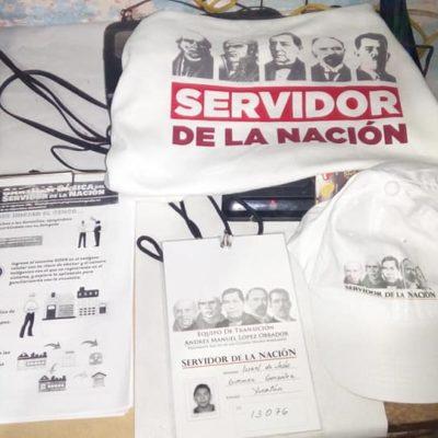 Ordenan a Secretaría del Bienestar no promover imagen de AMLO a través de indumentaria