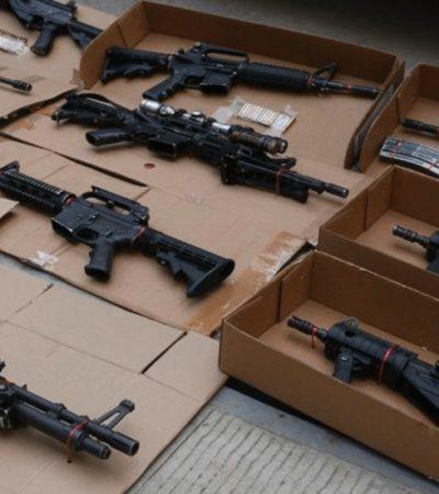 Estima Sedena que hay 1.6 millones de armas sin control en el país; 70% proviene ilegalmente de EU