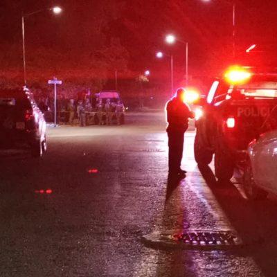 NOCHE VIOLENTA EN PUERTO AVENTURAS: Ejecutan a hombre de ocho disparos en la madrugada en el fraccionamiento Puerto Maya