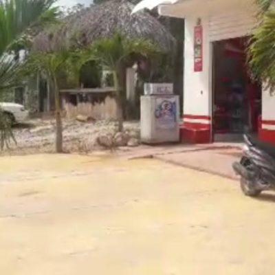 Mujer entra en crisis al ser víctima de asalto en Felipe Carrillo Puerto