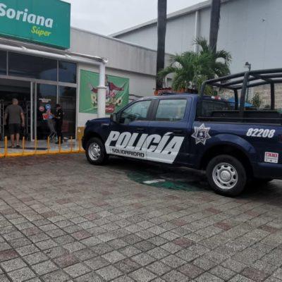 ASALTAN 'SORIANITA' EN PLAYA: Hombres armados atracan a empleados y clientes y huyen en camioneta despojada a una familia