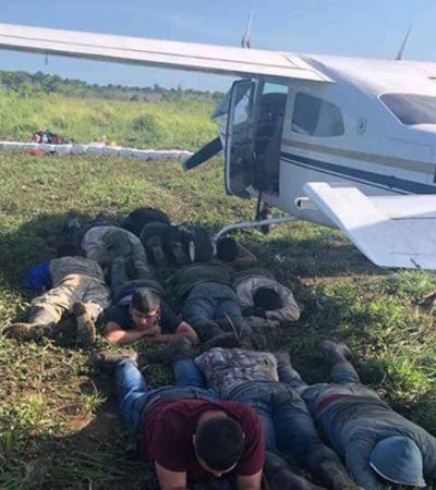 Detienen en Guatemala a 11 mexicanos con un cargamento de drogas