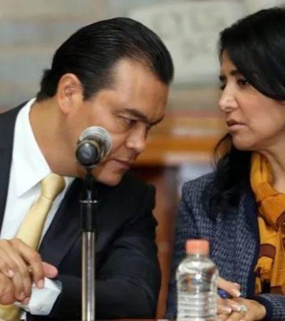 Abandonan Barrales y Zepeda los despojos del PRD