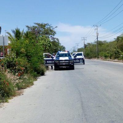 BALAZOS ENTRE POLICÍAS Y LADRONES: Hieren a presunto asaltante tras un atraco en la SM 255 de Cancún