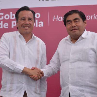 Acuerdan gobiernos de Puebla y Veracruz blindar zona limítrofe contra la delincuencia