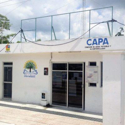 Después de varias semanas CAPA finalmente repara la red de agua potable en Tulum